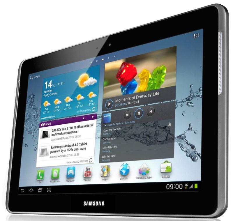 Samsung annonce la tablette Galaxy Tab 2 10,1 pouces sous Android ICS au MWC 3