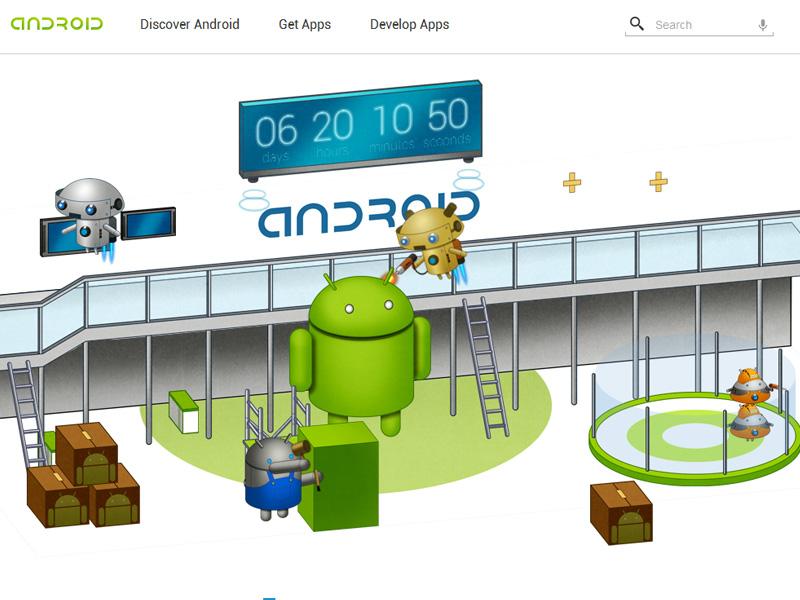 MWC 2012 : Google lance un mini site Android dédié au MWC