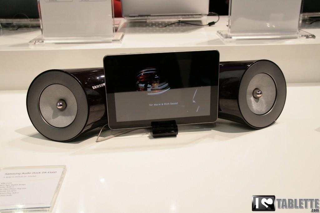 dock audio samsung da e660 une station d accueil hifi. Black Bedroom Furniture Sets. Home Design Ideas