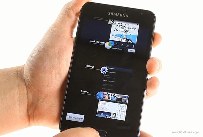 Samsung Galaxy Note : un aperçu d'Android 4 Ice Cream Sandwich prévu pour avril