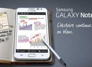 Le Samsung Galaxy Note Blanc est disponible !