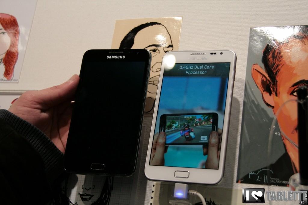 Samsung stoppe le déploiement de la mise à jour d'Android 4 sur son Galaxy Note