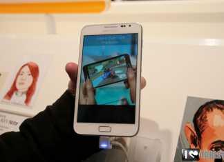 Prise en main de la Samsung Galaxy Note 5.3 en blanc au MWC  3