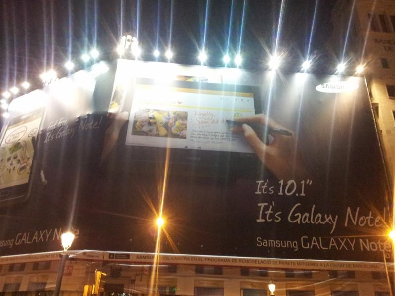 Samsung Galaxy Note 10.1 : sortie officielle au MWC de Barcelone !
