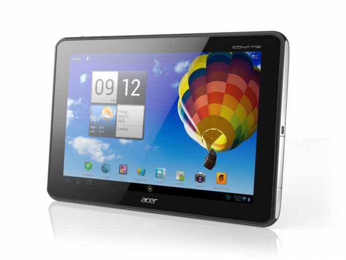 Acer Iconia Tab A510 : sortie de la nouvelle tablette Acer A510 courant mars 1