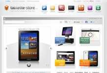 Tablette-Store : la première interface e-commerce ergonomiquement pensée pour une utilisation tablette 2