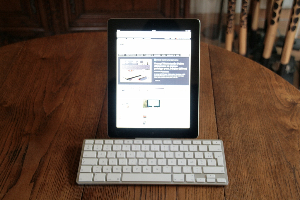 Test du dock avec clavier iPad Apple 7