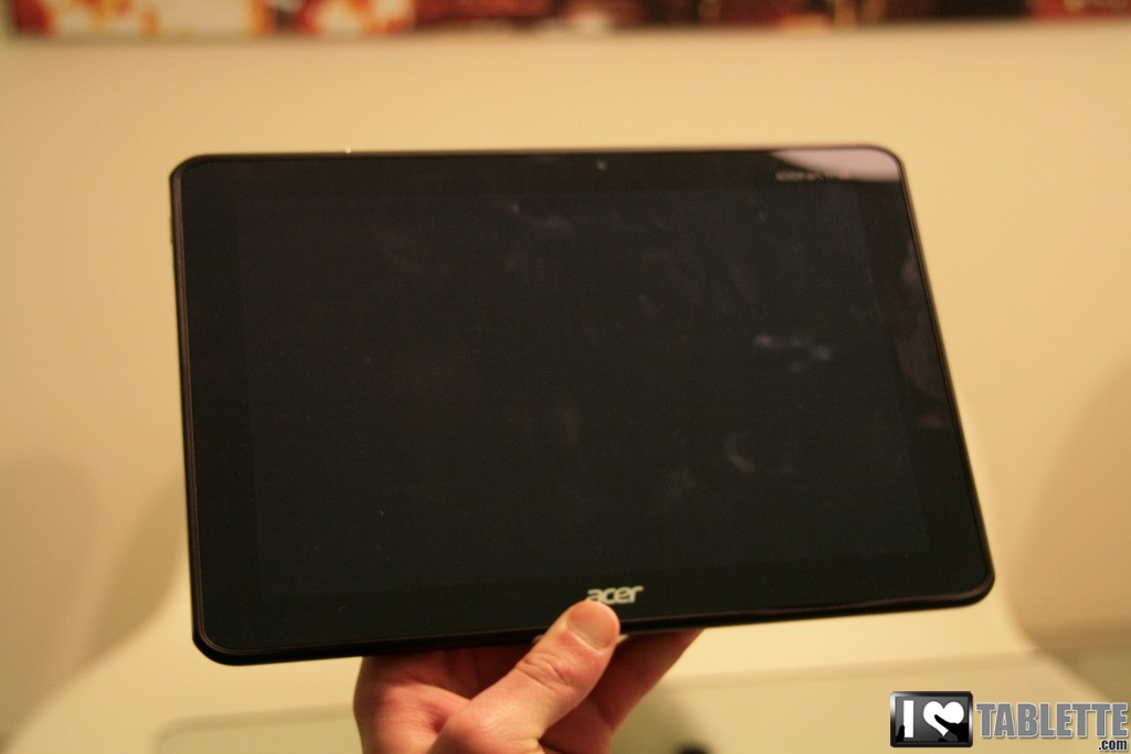 Acer Iconia Tab A510 : photos et caractéristiques de l'Iconia Tab A510 au MWC