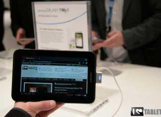 Samsung Galaxy Tab 2 7 : Démonstration de la Galaxy Tab 2 7 pouces au MWC 9
