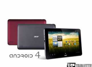 Acer Iconia Tab A200 : le passage vers Android 4.0 ice cream sandwich démarre aujourd'hui