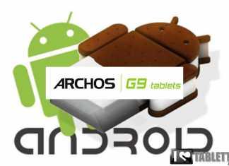 Mise à jour Android 4 Ice Cream Sandwich pour toutes les tablettes Archos G9