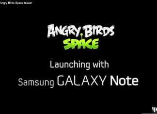 Angry Birds Space : lancement sur le Samsung Galaxy Note & Teaser depuis l'espace !