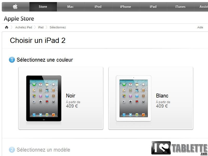 Prix de l'iPad 2 en baisse : achetez l'iPad 2 moins cher dès 405€ ! [comparatif]