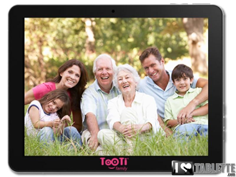tablette senior tooti family. Black Bedroom Furniture Sets. Home Design Ideas