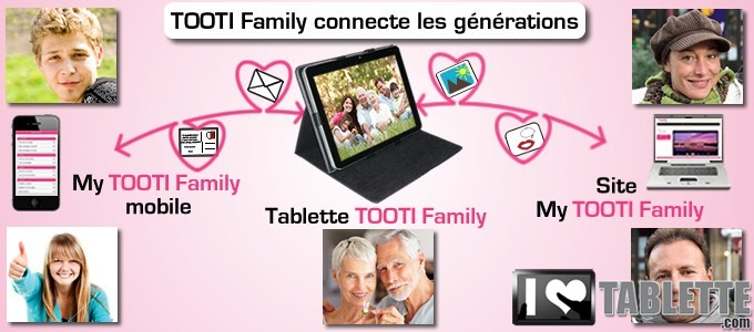 tablette tooti family la tablette tactile pour les s niors qui connecte les g n rations entre. Black Bedroom Furniture Sets. Home Design Ideas