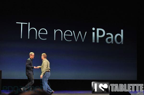 Apple Nouvel iPad (iPad 3) : Fiche technique complète Nouvel iPad (iPad 3), photos !