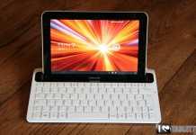 Dock clavier Bluetooth pour Samsung Galaxy Tab 8.9 [Test] 1