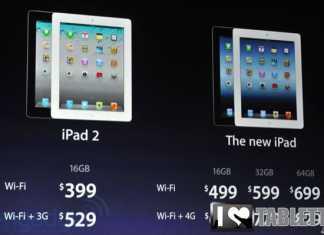 Prix de l'iPad 2 moins cher de 100€ suite au nouvel iPad