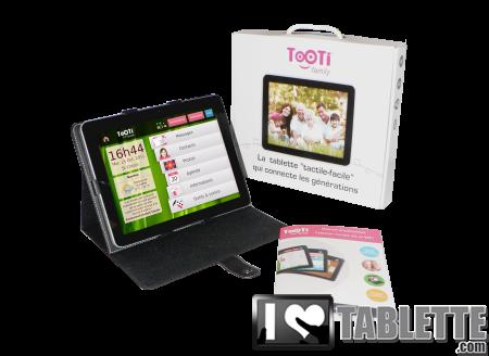tablette tooti package. Black Bedroom Furniture Sets. Home Design Ideas