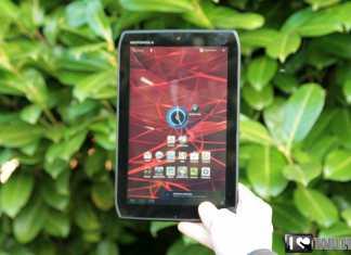 Test et avis de la tablette Motorola Xoom 2 Media Edition 2