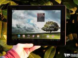 Test et avis de la tablette Asus Transformer Prime  2