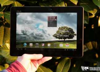 Test et avis de la tablette Asus Transformer Prime 2