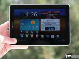 Test et avis de la tablette Samsung Galaxy Tab 7.7 2