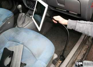 Support voiture pour iPad et tablettes tactiles de 7 à 10 pouces : le bras flexible iFlex 1