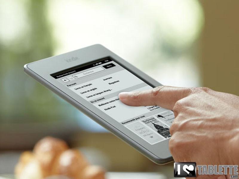 eBook Amazon Kindle Touch : Disponible à la vente en France