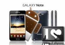 Mise à jour Samsung Galaxy Note : Android 4 ICS disponible ! 2