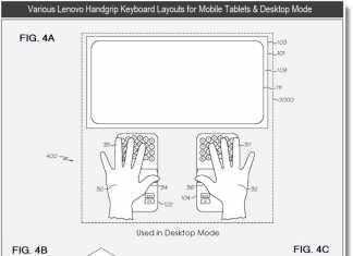 Lenovo développe un nouveau concept de clavier pour tablette tactile 3