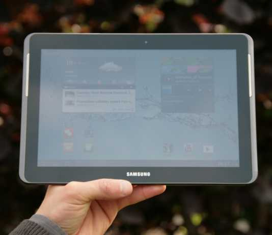 Test complet de la tablette Samsung Galaxy Tab 2 10.1  4