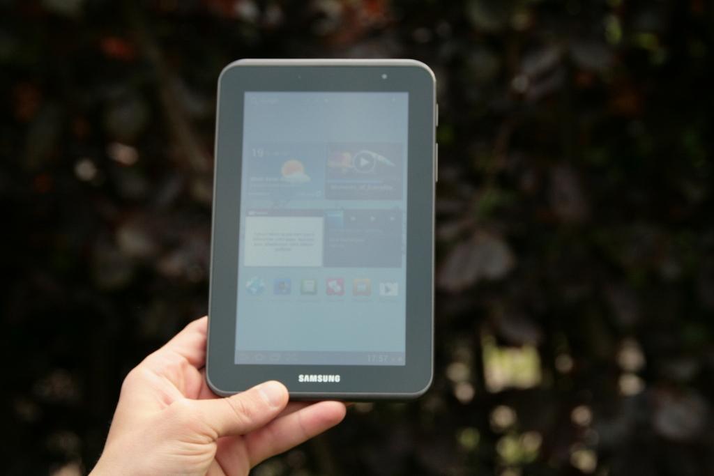 Test complet de la tablette Samsung Galaxy Tab 2 7 pouces