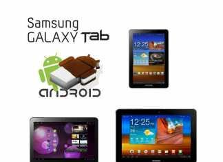 Tablettes Samsung Galaxy Tab : Mise à jour vers Android 4 prévue pour cet été