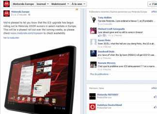 Motorola Xoom : Passage à Android 4 Icecream sandwich dès aujourd'hui en Europe