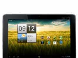 Première vidéo commerciale de la Acer Iconia Tab A210 1