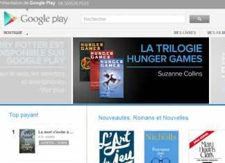 Google Play livres enfin disponible en France et sur vos tablettes 3