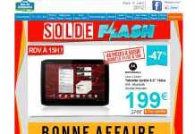 La Motorola Xoom 2 Media Edition à 199€ chez RueDuCommerce
