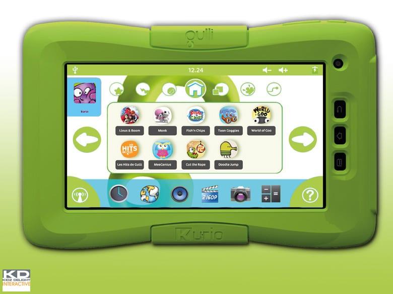 tablette tactile by gulli une tablette android pour les enfants d s la rentr e. Black Bedroom Furniture Sets. Home Design Ideas