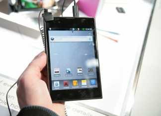 LG confirme la sortie de son Optimus Vu en France pour la rentrée 2012 2