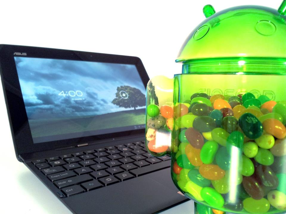 La tablette Asus Transformer TF-300 passe à Android 4.1 Jelly Bean !