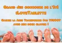 Concours : Gagnez la tablette Asus Transformer Pad TF300T avec iLoveTablette.com