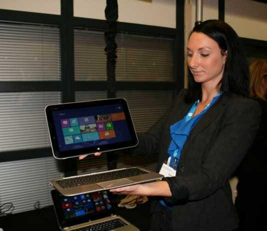 Prise en main de la Tablette PC HP Envy X2 sous windows 8 Pro 10