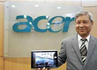 Le PDG d'Acer met en garde Microsoft avec sa tablette Surface