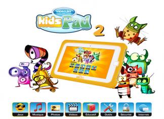 Kids Pad 2 : VidéoJet annonce une nouvelle tablette tactile pour les enfants ! 1