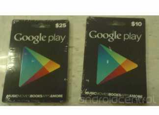 Google va proposer des cartes prépayées pour Google Play