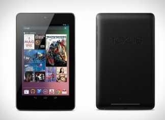 La tablette Google Nexus 7 est disponible à l'achat en France sur Google Play 1