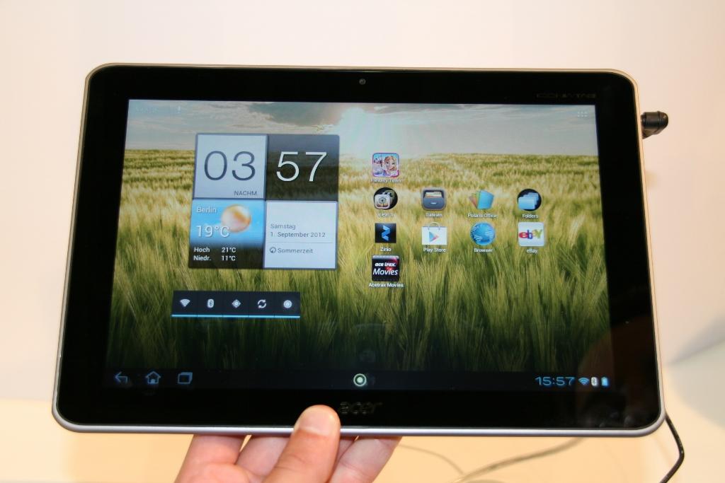 Acer Iconia Tab A210 : la grande soeur de la Iconia Tab A200