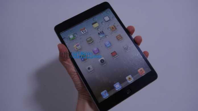 Une première vidéo de l'iPad Mini d'Apple 5