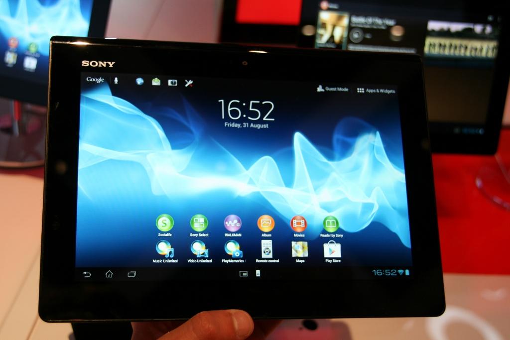 Xperia Tablet S : la nouvelle tablette Android 4.0 de Sony à l'IFA de Berlin